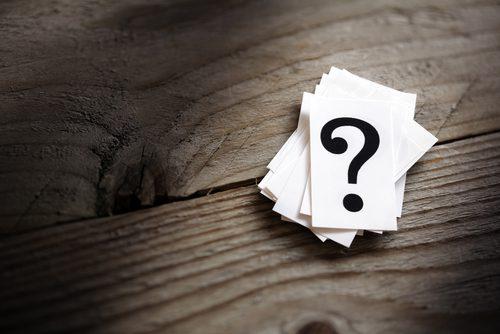 Questões e dúvidas. Foto: Shutterstock