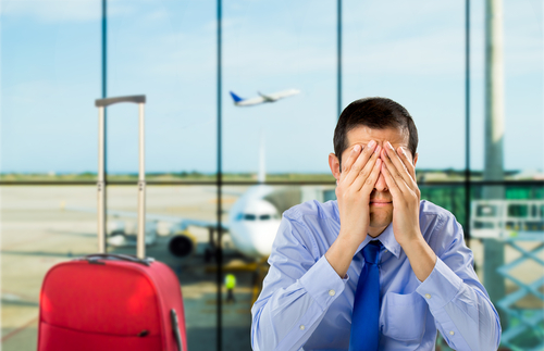 Flight cancelled. Foto: Shutterstock