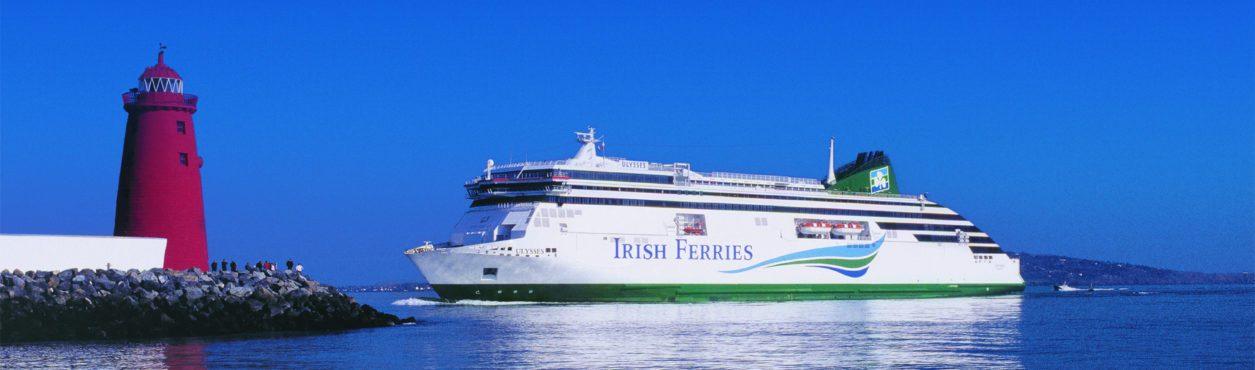 Compensa viajar de ferry da Irlanda para cidades da Europa?