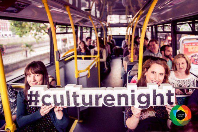 A Culture Night estará por todos os cantos das cidades e também dentro dos transportes públicos. Foto: TheJournal.ie