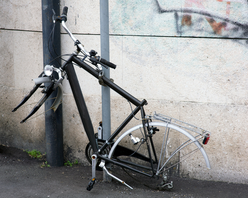 Bicicleta roubada Dublin