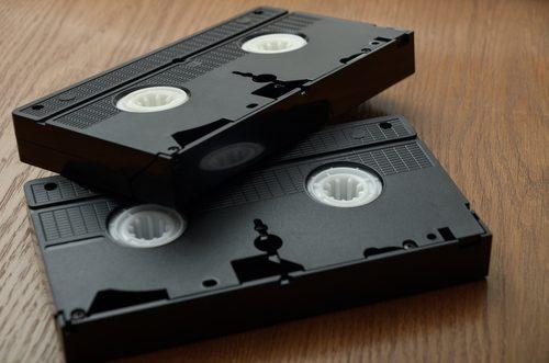 Fitas VHS. Foto: Shutterstock