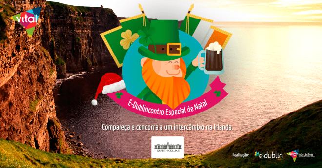 E-Dublincontro de Natal com a Vital Intercâmbios
