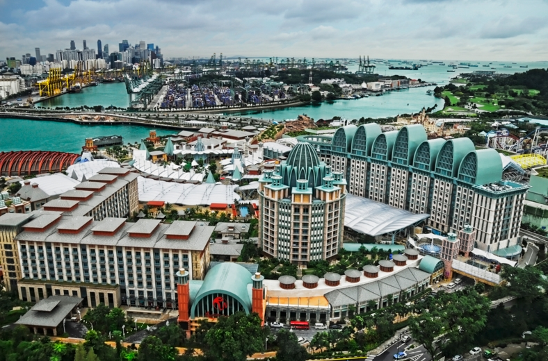 Sentosa Resort. Foto: Thousand Wonders