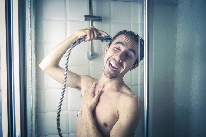 Banho sim senhor! Créditos: Shutterstock