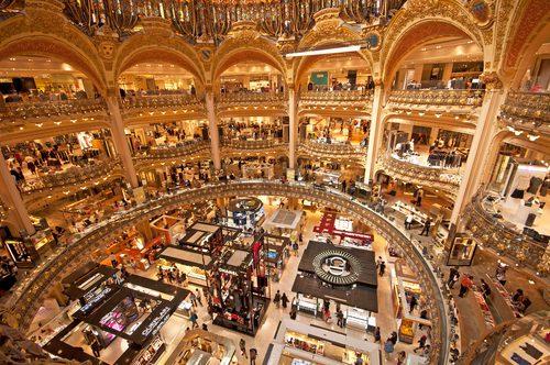 Roteiro de compras em Paris