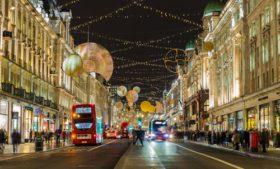 Roteiro de compras em Londres