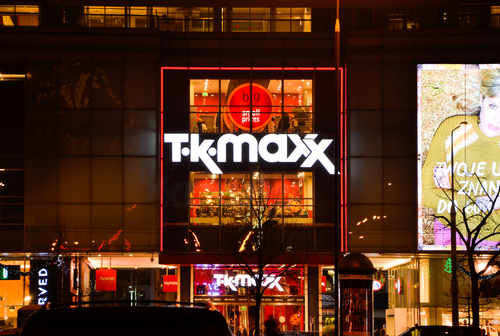 TK Maxx. Foto: Shutterstock