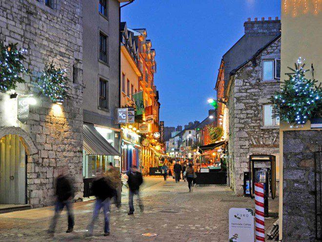 Quay Street, Galway. Foto: SAH