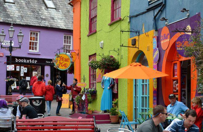 Kinsale a cidade fica a 20 minutos do centro de Cork. Reprodução: Etsy
