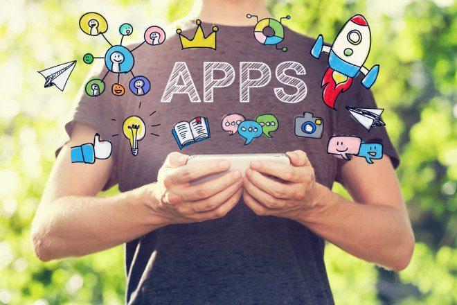 Aposte nos apps para ajudar a descobrir a cidade nos primeiros dias de intercâmbio . Créditos: Shutterstock.