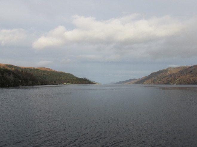 Lago Ness é o maior da Escócia. Foto: Elizabeth Gonçalves