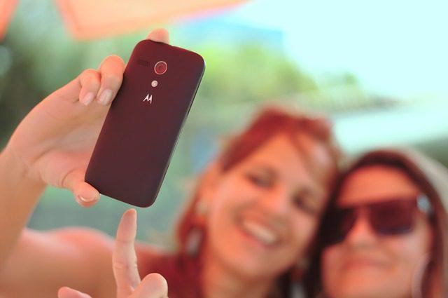 Selfies é a marca registrada dos brasileiros. Foto: Pixabay