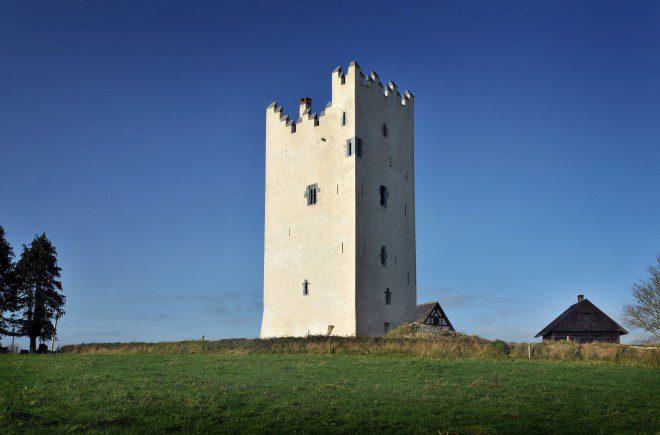 Quanto você pagaria para se hospedar em um castelo? Reprodução: Medievalists