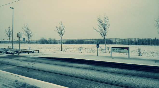 Estação Cheeverstown. Foto: @oceallaigh_clan