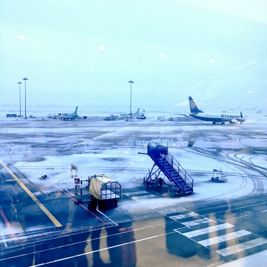 Aeroporto de Dublin. Foto: Louise Cooney