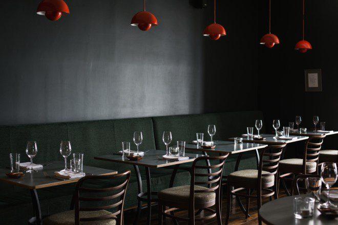 Café Paradiso, o terceiro restaurante mais cotado em Cork. Reprodução Café Paradiso.