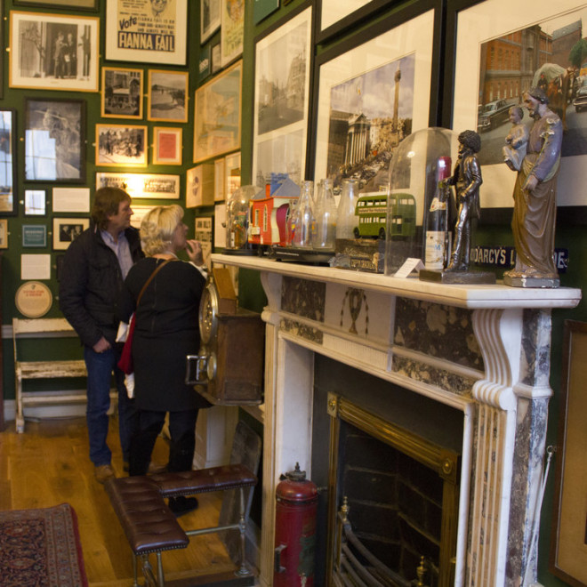 O The Little Museum of Dublin tem andares temáticos que contam a História do país. Reprodução littlemuseum.ie