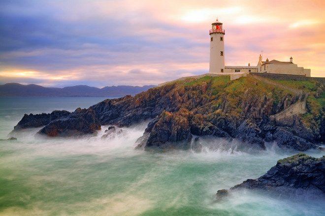 Brasileiros tem descoberto Donegal, no interior da Irlanda, como opção de intercâmbio. © Patrick Mangan | Dreamstime.com