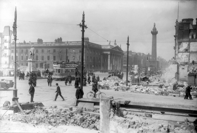 1916 Easter Rising. Foto: Ireland.ie