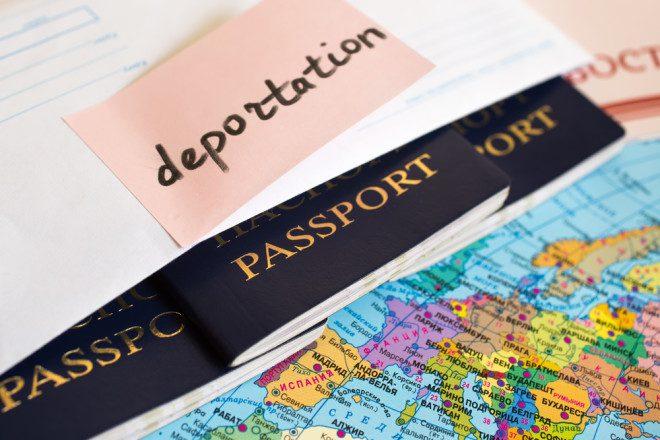 Número de brasileiros deportados na Europa subiu em 9,5% segundo Frontex. Foto: Shutterstock