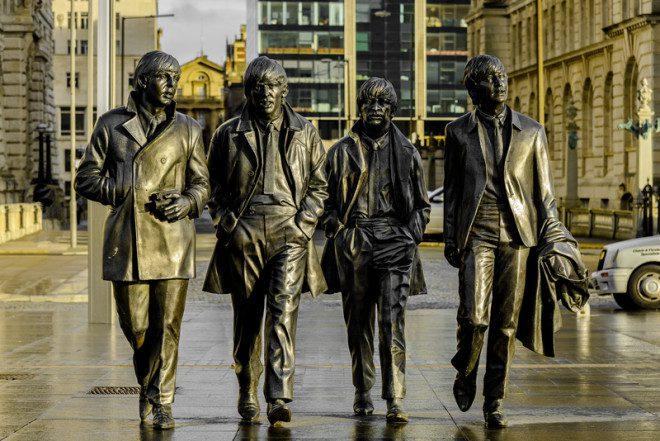 Liverpool, a 'casa' dos Beatles, deve ser incluída no roteiro pelo Reino Unido. Crédito: Lajos Sidlovszky | Dreamstime.com