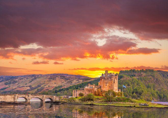 Eilean Donan Castle, um dos pontos das highlands escocesas. Crédito: Tomas Marek | Dreamstime.com