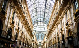 Roteiro de compras em Milão