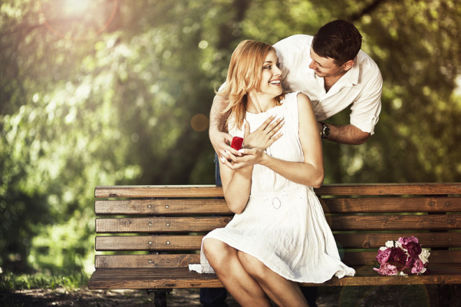 Namoro durante o intercâmbio. © Irina Braga | Dreamstime.com