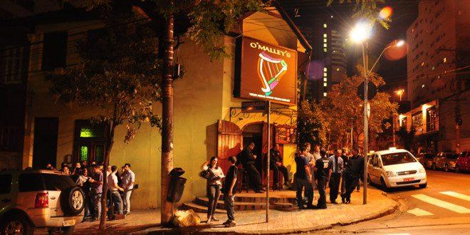 O'Malley's Bar, em São Paulo Foto: Divulgação