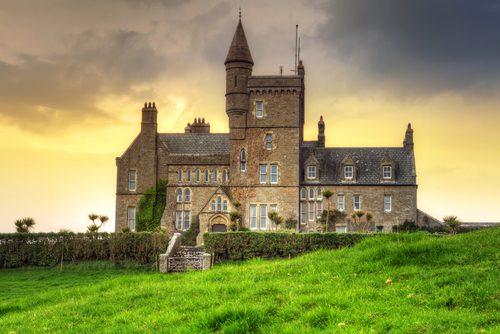 Classiebawn Castle, a 25km da cidade de Sligo. Foto: Shutterstock