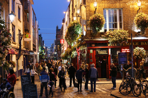 Temple Bar. Foto: Shutterstock