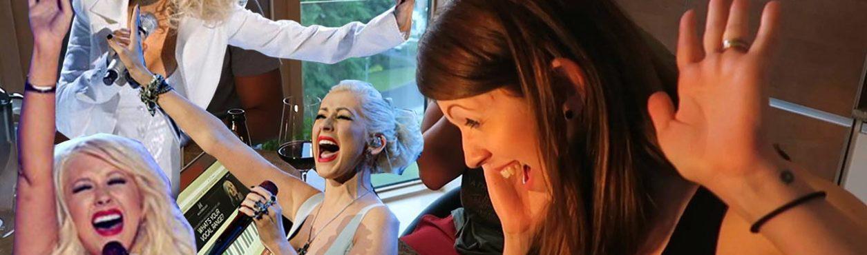 Descobrindo nosso Vocal Range com a Christina Aguilera!