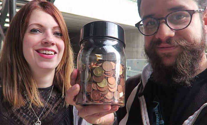 Como trocar suas moedas por notas de dinheiro – Curtas#02