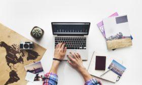 Viajando com a ajuda da Internet