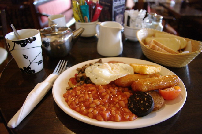 Full Irish Breakfast Foto: Wikimedia