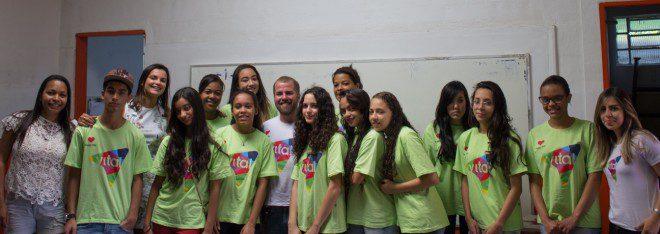 Equipe visita o Projeto Vital Social Inglês para Todos – Embu das Artes
