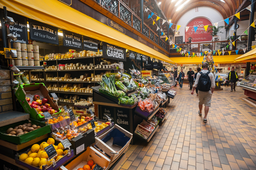 English Market, em Cork. Foto: Shutterstock