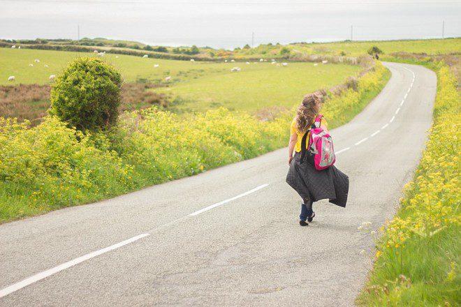 Estava cheia de dúvidas, indo para outro país, sem conhecer nada. Arquivo Pessoal Liliane Catto