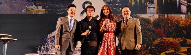 Os convidados do evento. Foto: Divulgação