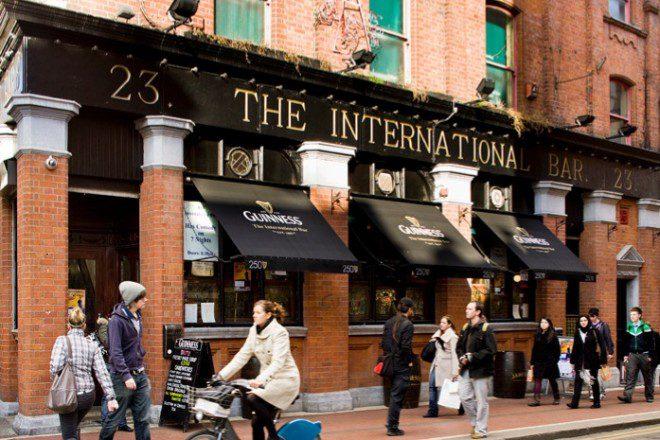 Reprodução: The International Comedy Bar