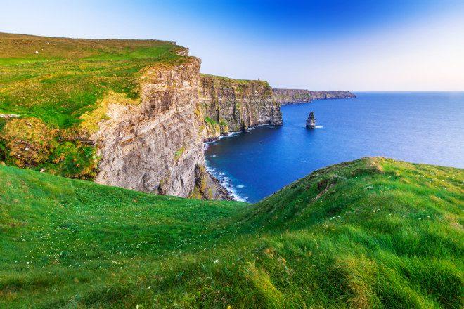 Cliffs of Moher, Irlanda. Foto: Shutterstock