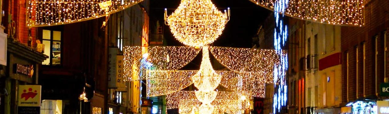 Luzes de Natal em Dublin – All That Jess#72