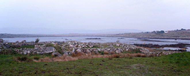 Litoral de Muckanaghederdauhaulia, Co. Galway.
