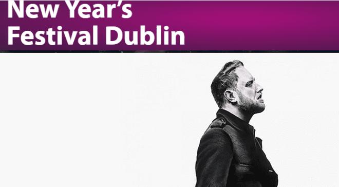 Show da virada em Dublin é pago. Foto reprodução New Year Festival