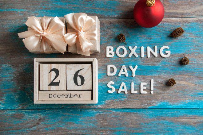 O saldão de dezembro vem ai. Boxing Day na Irlanda. Crédito: Olena Kryzhanovska | Dreamstime