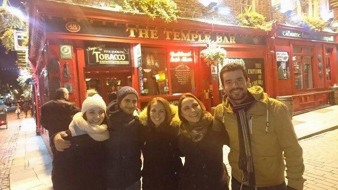 Minhas extraordinária aventura com os brasileiros na Irlanda. @arquivo pessoal