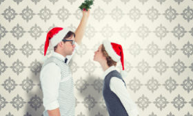 O Beijo sob o Visco – Kissing Under the Mistletoe