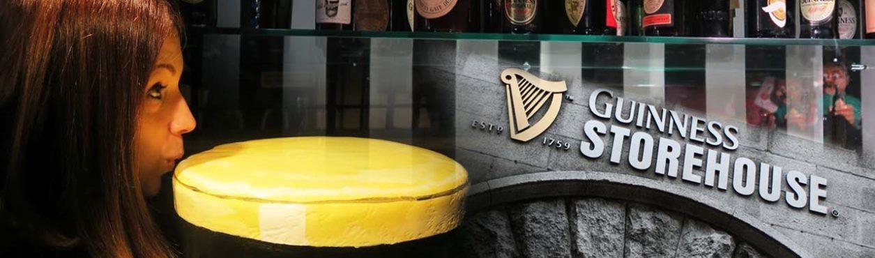 Conhecendo a fábrica da Guinness na Irlanda