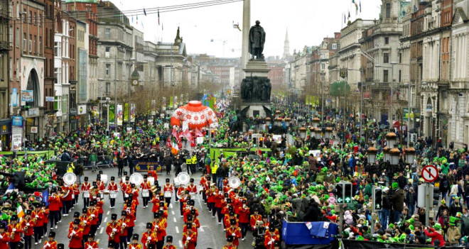 St. Patrick's Day Parade. Foto: FSD
